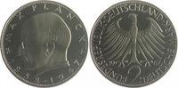2 Deutsche Mark (DM) 1967 F Bundesrepublik Deutschland - BRD Max Planck... 120,00 EUR  zzgl. 6,50 EUR Versand