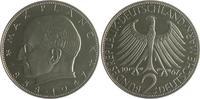 2 Deutsche Mark (DM) 1967 J Bundesrepublik Deutschland - BRD Max Planck... 120,00 EUR  zzgl. 6,50 EUR Versand