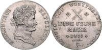 Konventionstaler 1811 Westfalen Hieronymus Napoleon 1807-1813 vz  850,00 EUR  zzgl. 6,50 EUR Versand