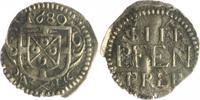 4 Pfennig 168 AL Trier - Erzbistum Johann Hugo v. Orsbeck 1676-1711 ss-... 40,00 EUR  zzgl. 6,50 EUR Versand