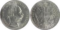 Gulden 1888 RDR - Österreich Franz Josef I. 1848-1916 vz+  80,00 EUR  zzgl. 6,50 EUR Versand