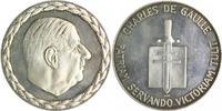 Frankreich Silbermedaille o.J. PP- Charles de Gaulle - für Verdienste um... 70,00 EUR  zzgl. 6,50 EUR Versand