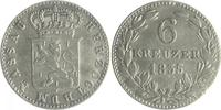 6 Kreuzer 1835 Nassau Wilhelm 1816-1839 ss  20,00 EUR  zzgl. 6,50 EUR Versand