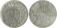 6 Kreuzer 1855 Nassau Adolph 1839-1866 ss  18,00 EUR  zzgl. 6,50 EUR Versand