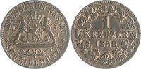 1 Kreuzer 1859 Nassau Adolph 1839-1866 vz+  14,00 EUR  zzgl. 6,50 EUR Versand