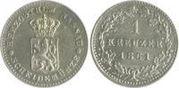 1 Kreuzer 1861 Nassau Adolph 1839-1866 vz+  25,00 EUR  zzgl. 6,50 EUR Versand