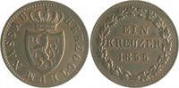 1 Kreuzer 1855 Nassau Adolph 1839-1866 ss-vz  10,00 EUR  zzgl. 6,50 EUR Versand