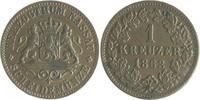 1 Kreuzer 1863 Nassau Adolph 1839-1866 ss-vz  10,00 EUR  zzgl. 6,50 EUR Versand