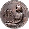 Bronzemedaille, einseitig 1907 Jugendstil a.d. Durchschlag des Tauern-T... 160,00 EUR  zzgl. 6,50 EUR Versand