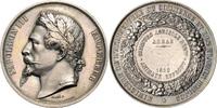 Kupfermedaille, versilbert 1862 Frankreich Napoleon III. 1852-1870 ss-vz  90,00 EUR  zzgl. 6,50 EUR Versand