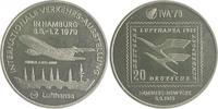 Nickelmedaille 1979 Hamburg a.d. Internationale Verkehrsausstellung prfr.  25,00 EUR  zzgl. 6,50 EUR Versand