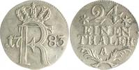 1/24 Taler 1783 A Brandenburg in den Marken - Preussen Friedrich II. de... 28,00 EUR  zzgl. 6,50 EUR Versand