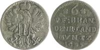 6 Pfennig 1695 Brandenburg in den Marken - Preussen Friedrich III. Kurf... 19,00 EUR  zzgl. 6,50 EUR Versand
