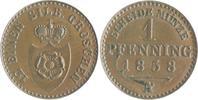 1 Pfennig 1858 A Lippe-Detmold Paul Friedrich Emil Leopold 1851-1875 st... 35,00 EUR  zzgl. 6,50 EUR Versand