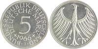 5 Deutsche Mark (DM) 1966 J Bundesrepublik Deutschland - BRD  PP  110,00 EUR  zzgl. 6,50 EUR Versand