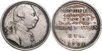 Bronzemedaille, versilbert 1773 Großbritannien George III. 1760-1820 ss... 90,00 EUR  zzgl. 6,50 EUR Versand