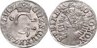 Mariengroschen 1672 Sayn - Wittgenstein Gustav 1657-1701 vz, Pr.schw  110,00 EUR