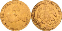 8 Escudos 1850 C.-C.E. Mexiko Republica Mexicana 1823-1864 ss  1400,00 EUR  zzgl. 6,50 EUR Versand