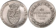 20 Kreuzer 1809 L Nassau Friedrich August und Friedrich Wilhelm 1803-18... 1800,00 EUR  zzgl. 6,50 EUR Versand