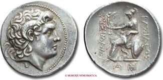 Tetradrachm / Tetradrachme 323-281 b.C. Kingdom of Thrace / THRAKISCHE KÖNIGE LYSIMACHOS VZ