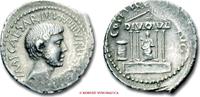 Roman Republic / RÖMISCHE REPUBLIK Denarius / Denar OCTAVIAN
