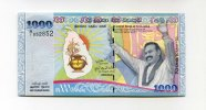 Sri Lanka, 1000 Rupees, 