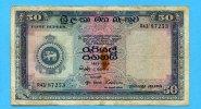 50 Rupees, 1958, Ceylon,  III-IV,  95,00 EUR