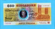 50 Dollars, 1990, Singapur,  I,  80,00 EUR  +  7,00 EUR shipping