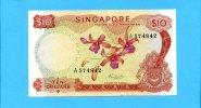 10 Dollars, 1972, Singapur,  I-II,  75,00 EUR  +  7,00 EUR shipping