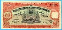20 Schillings, 1930 Brittisch West-Afrika,  II  650,00 EUR  +  17,00 EUR shipping
