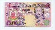 20 Pounds, 1995, Gibraltar,  I,  75,00 EUR  +  7,00 EUR shipping