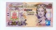 20 Pounds, 2004, Gibraltar,  I,  65,00 EUR  +  7,00 EUR shipping