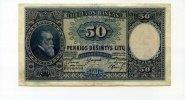 50 Litu, 1928 Litauen,  III,  75,00 EUR  +  7,00 EUR shipping
