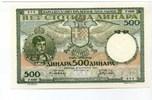 500 Dinara, 1935, Jugoslawien,  I,  85,00 EUR  +  7,00 EUR shipping