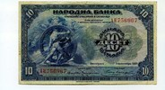 10 Dinara, 1920, Jugoslawien,  III,  99,00 EUR85,00 EUR  +  7,00 EUR shipping