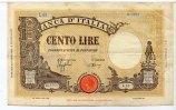 100 Lire, 1944, Italien,  III,  75,00 EUR  +  7,00 EUR shipping