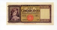 500 Lire 1947, Italien,  II,  130,00 EUR