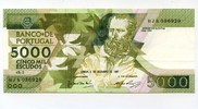 5000 Escudos, 1987, Portugal,  II,  55,00 EUR