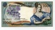 1000 Escudos, 1967, Portugal,  I-,  70,00 EUR  +  7,00 EUR shipping