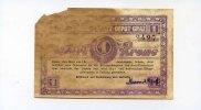 1 Krone, (1915/16), Österreich/Graz, K.u.K.Auto-Ersatz-Depot-Graz,   110,00 EUR99,00 EUR