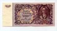 50 Schilling, 1951, Österreich,  II-III,  85,00 EUR75,00 EUR  +  7,00 EUR shipping
