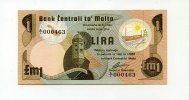 Malta, 1 Lira, 