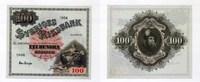 100 Kronor/Kronen, 1956, Schweden,  I-,  65,00 EUR  +  7,00 EUR shipping