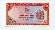 Rhodesien, 2 Dollars,