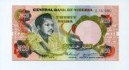 20 Naira, 1977/78, Nigeria,  unc,  76,00 EUR  +  7,00 EUR shipping