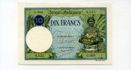 Madagaskar, 10 Francs,