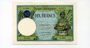 10 Francs, (1937-47), Madagaskar,  II,  68,00 EUR  +  7,00 EUR shipping
