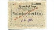 100000 Mark, 05.09.1923, Zörbig,  III,  95,00 EUR85,50 EUR  +  7,00 EUR shipping