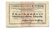 200 Milliarden Mark, 07.11.1923, Northeim,  III-,  165,00 EUR148,50 EUR