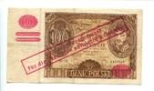100 Zlotych, 1940, Deutsches Reich, Generalgouvernement Polen 1940-1945... 85,00 EUR  +  7,00 EUR shipping